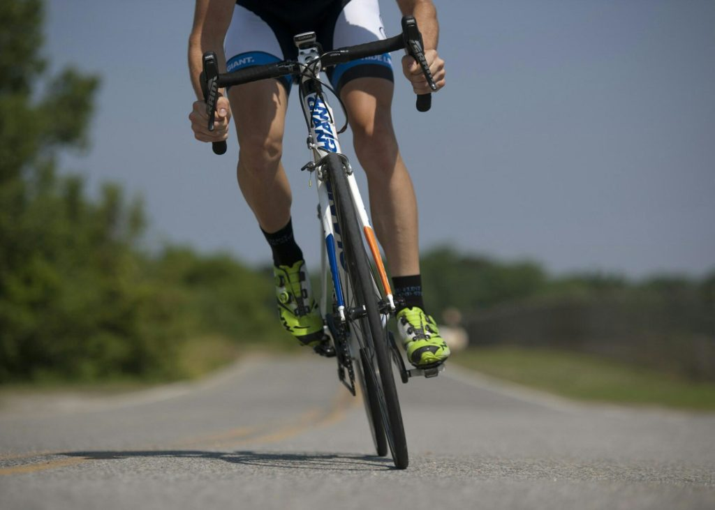 Cycling for running